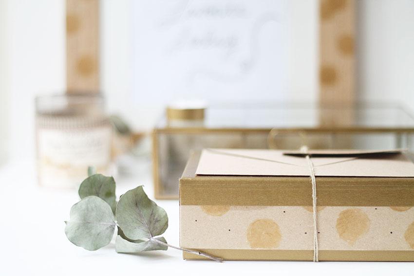 Diy une jolie bo te pour emballer une carte cadeau miss - Cuisiner des marrons en boite ...